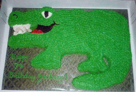 Alligator Cake