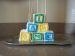 Alphabet Blocks for Baby Cake