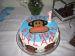 Julius (Paul Frank) Monkey 1st Birthday Cake