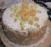 Orange Zest Picture of a Birthday Cake
