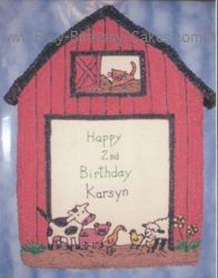 Phenomenal Barnyard Birthday Cake Funny Birthday Cards Online Inifodamsfinfo