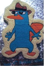 Perry the Platypus Cake