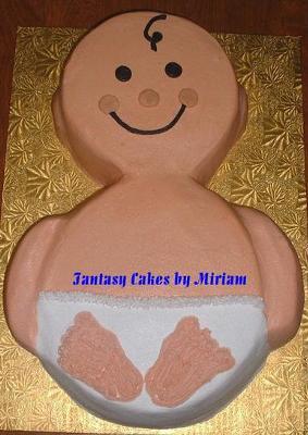 3D Baby Cake