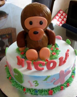 3D Baby Milo Cake