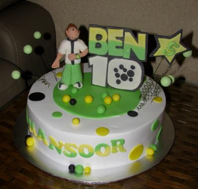 3d Cake Decorating Download : 3D Ben 10 Cake