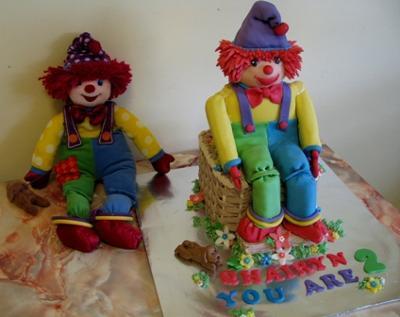 3D Gymboree Cake
