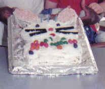 Happy Birthday Bunny Cake