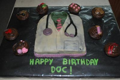 A Doctor's Life Cake