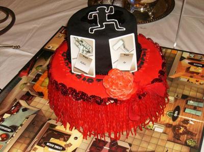Murder Mystery Birthday Cake