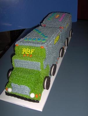 ABF Truck Cake