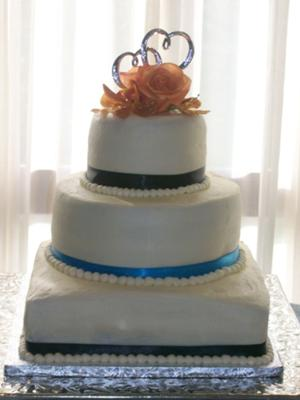 Amaretto Wedding Cake