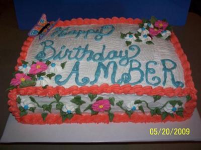 Amber's Cake