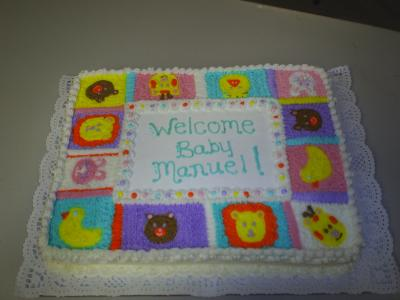 Animal Quilt Cake