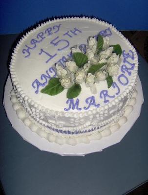 Anniversary Cake for my Mom