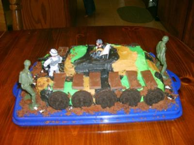 Army Tank Cake