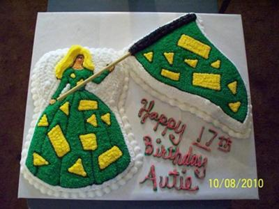 Flag Line Cakes