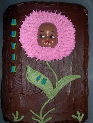 Autie's Flower Cake