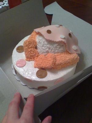 Baby's Bottom Cake
