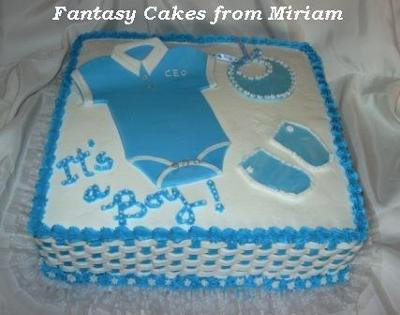 Baby's Outfit Cake
