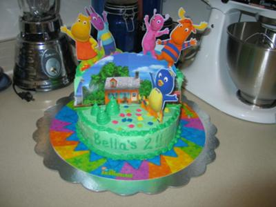 Backyardigan's Cake