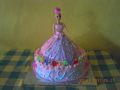 My First Barbie Cake