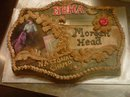 Barrel Racing Buckle Cake