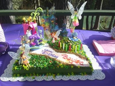 Baylee's Fairy Land Birthday Cake