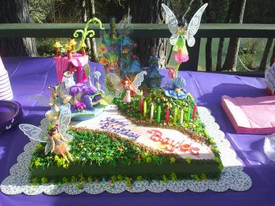 Baylee's Fairy Land Birthday Cake