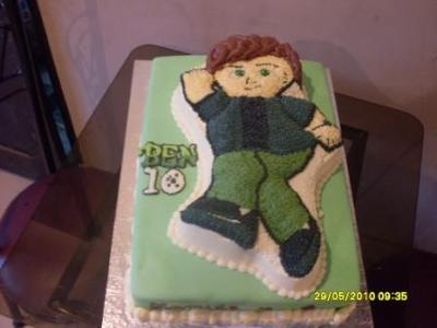Ben 10 Birthday Cake by Atinuke Olusanya