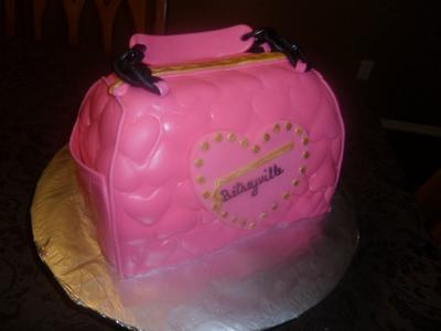 Betsey Johnson 3d Be Mine Satchel Cake
