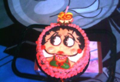 Adelle's Bettty Boop Birthday Cake