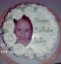 picture birthday cake decorations