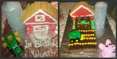 Birthday on the Farm Cake