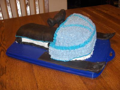 Skidoo Cake
