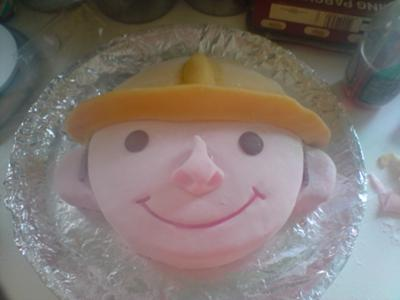 Astonishing Bob The Builder Birthday Cake Funny Birthday Cards Online Elaedamsfinfo