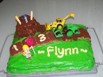 Flynn's 3rd Birthday Cake