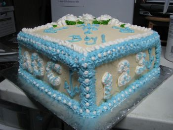 Boy Baby Shower Cake An Adorable Baby Shower Cake
