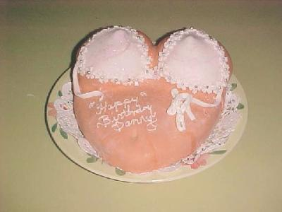 Bikini Top Bra Cake