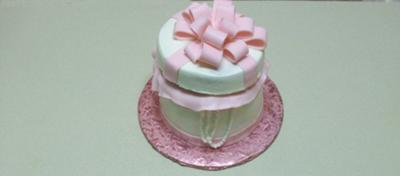 Bridal Shower Present Cake