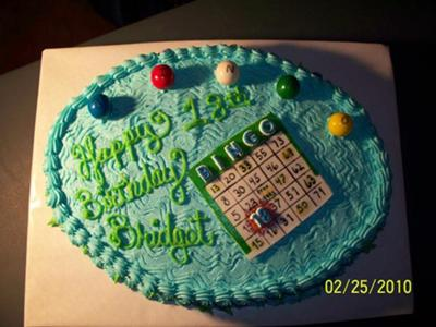Bridget S Bingo Cake