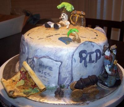 Buried Treasure Cake