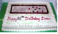 Bocce Cake Decoration Ideas