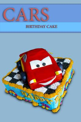 Lightning McQueen Cake or Nearly