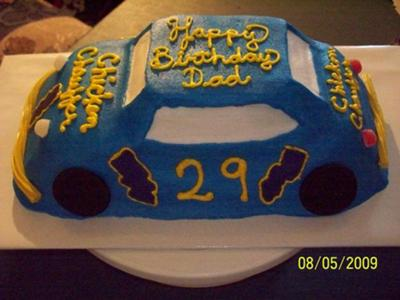 Birthday Cake Popcorn on Cars Birthday Decorations   Party Decorations View