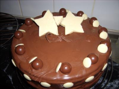 Chocoholics Dream Birthday Cake