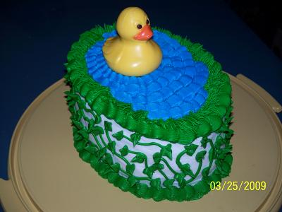 Chocolate Duck Cake