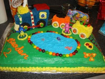 Train Birthday Cake Gallery
