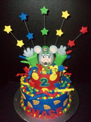 10 2 Wire >> Chuck E. Cheese Birthday Cake