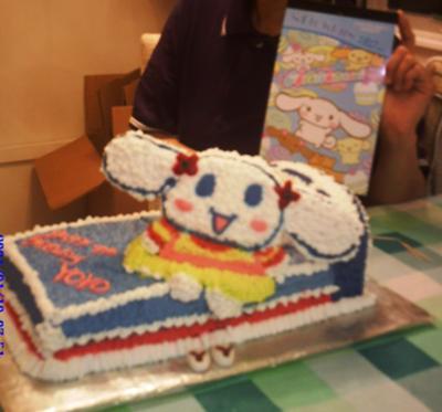 Yoyo's birthday cake
