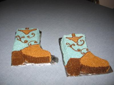 Cowboy Boots Cakes